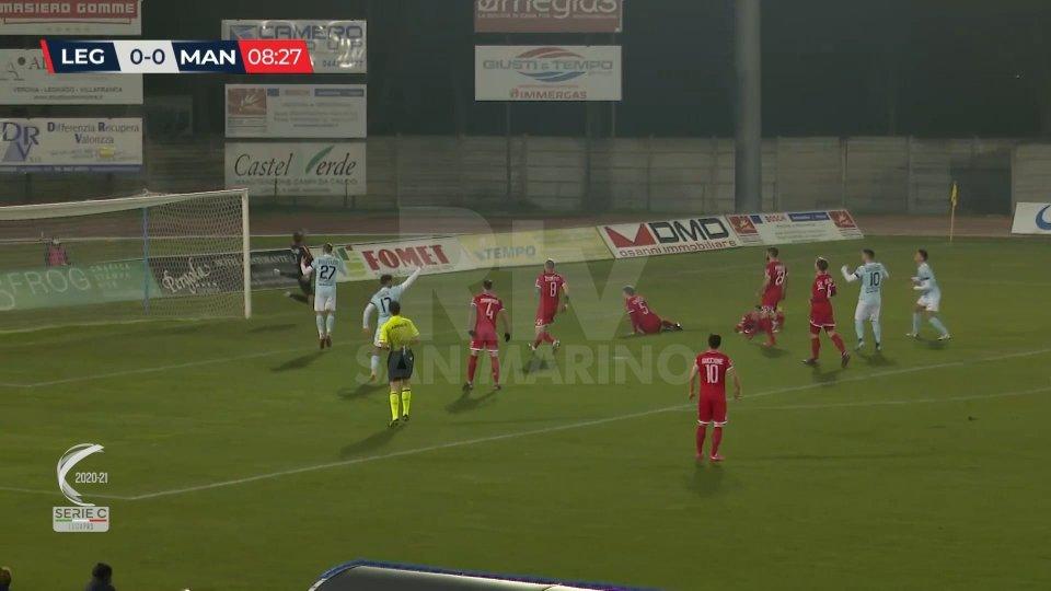 Serie C: Legnago – Mantova 0-0