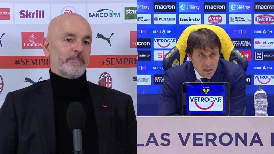 Sentiamo Stefano Pioli e Antonio Conte