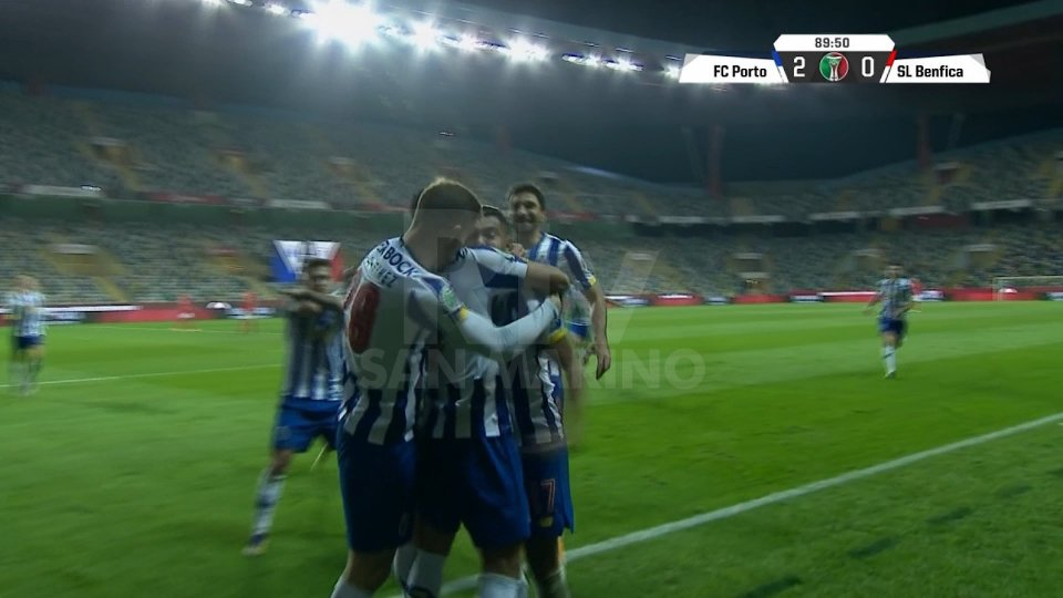 Il Porto vince la Supercoppa di Portogallo: 2-0 al Benfica