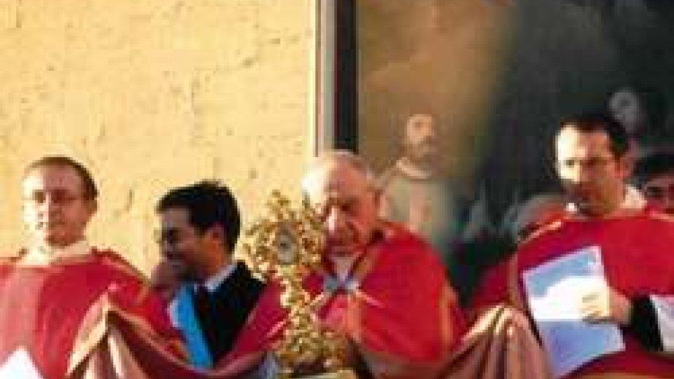 Domenica 23 ottobre a Serravalle ingresso del nuovo parroco Don Simone Tintoni