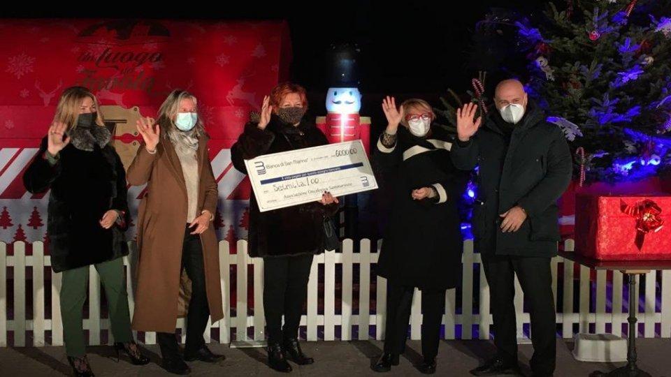 Lotteria di Natale di Banca di San Marino, un'estrazione da favola