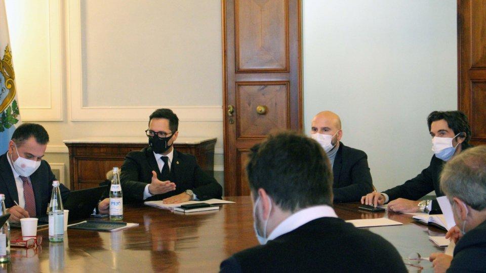 Confronto sul progetto San Marino 2030 con Congresso di Stato e forze di maggioranza