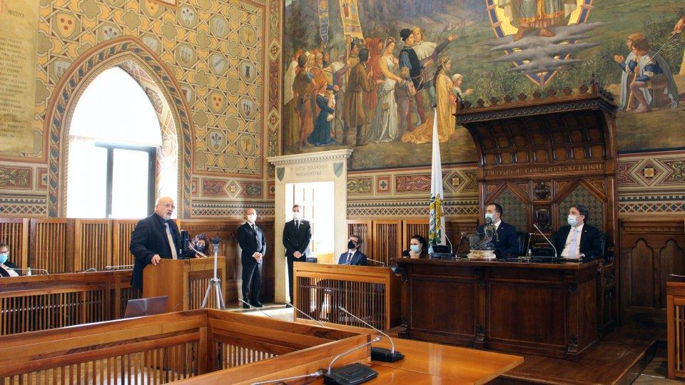 L'udienza con il Professor Verter Casali