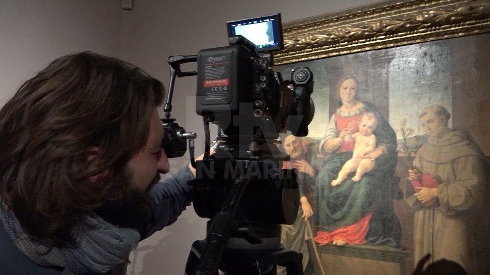 Sanzio da Urbino in alta tecnologia tv per i 500 anni
