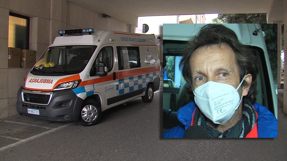 Nel servizio l'intervista a Gianluca Mazza, Presidente Croce Bianco Azzurra