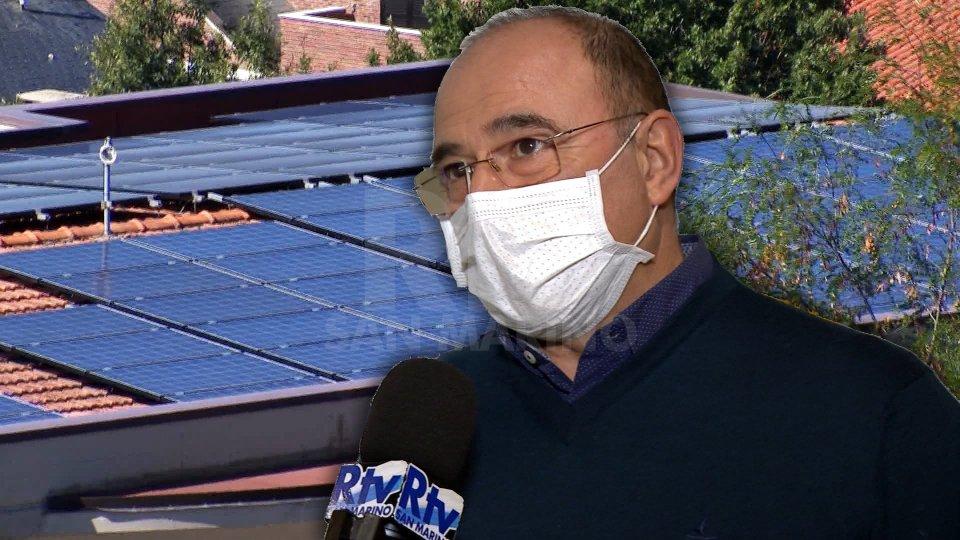 Nel servizio l'intervista a Luciano Zanotti (Presidente Associazione Energie Rinnovabili San Marino)