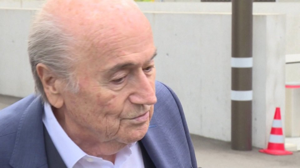 Blatter ricoverato in Ospedale