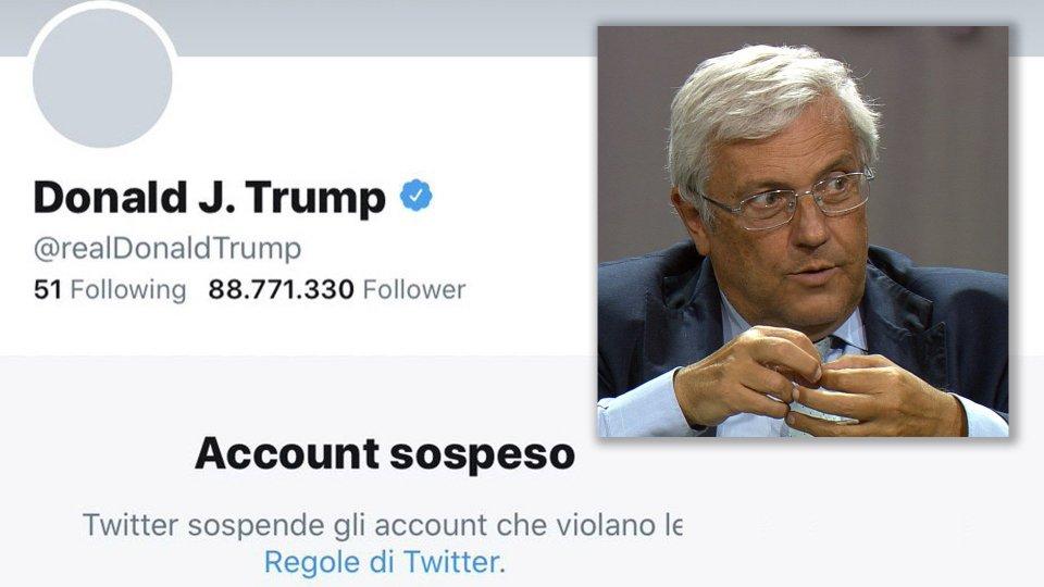 Twitter sospende definitivamente Trump