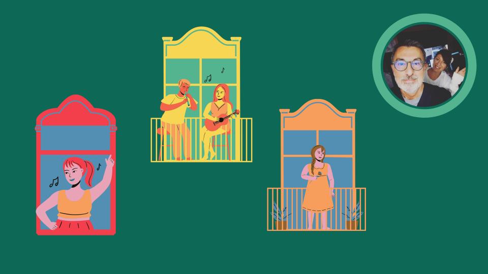 Storie di serenate al balcone