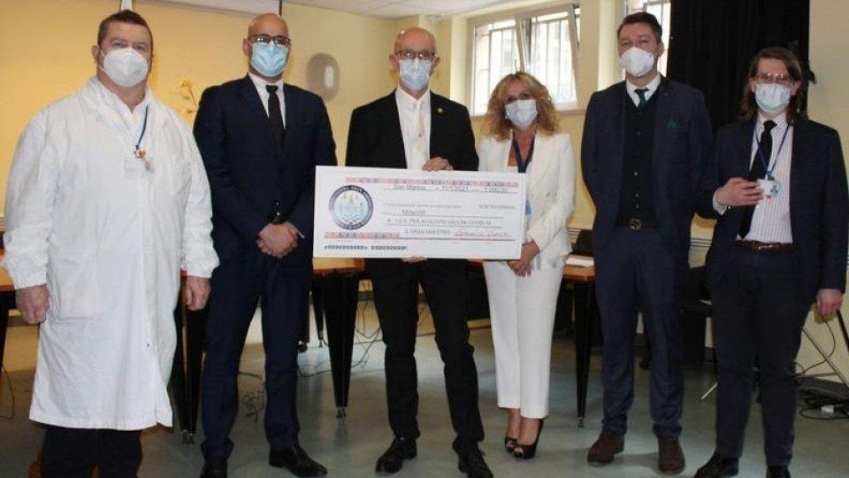 Serenissima Gran Loggia della Repubblica di San Marino dona 1000 euro per i vaccini