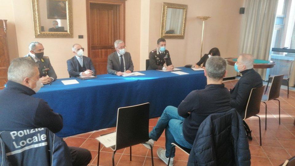 Prefettura: potenziati i servizi per la sicurezza nel capoluogo riminese