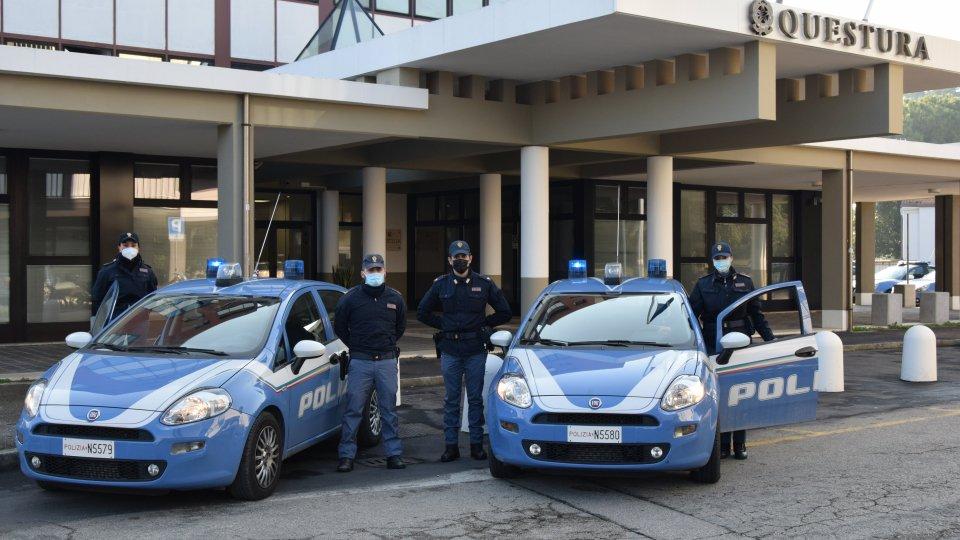 La polizia rinforza l'organico della Questura di Rimini