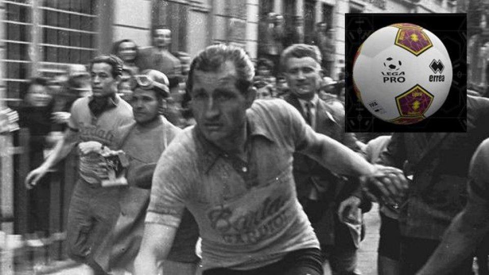 """Lega Pro: il pallone della """"C"""" dedicato a Gino Bartali"""