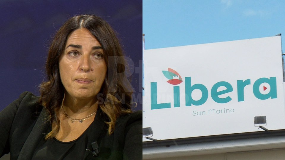 Denise Bronzetti e sede Libera