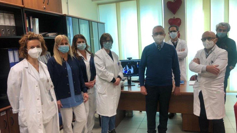 ASSOCUORE dona sistema di archiviazione e rielaborazione delle immagini ecocardiografiche alla Cardiologia