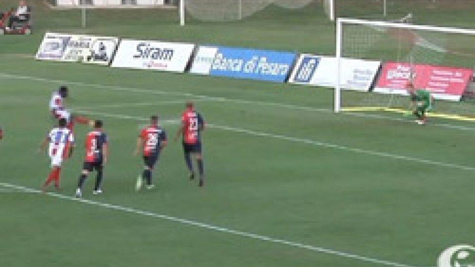 Olcese dà alla Vis Pesaro un successo atteso 13 anni: 2-1 al Gubbio