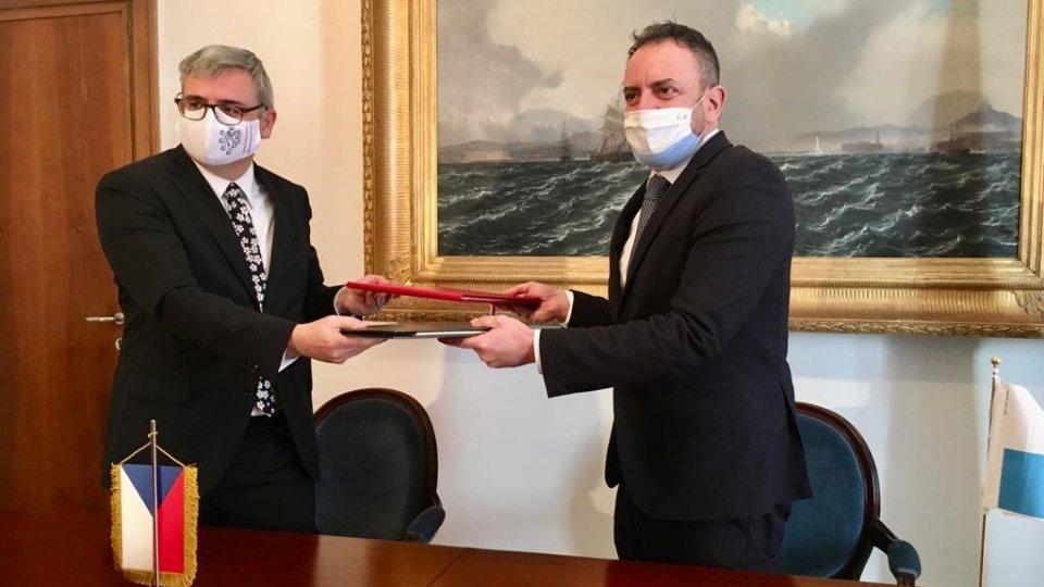 Firmato l'accordo sulla Doppia Imposizione con la Repubblica Ceca