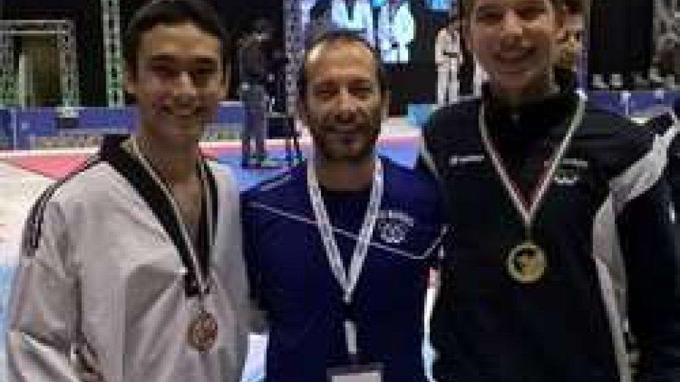 Taekwondo: fantastico bronzo di Francesco Maiani