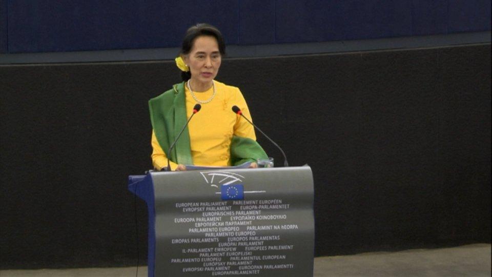 Aung San Suu Kyi @Afp @Ebu