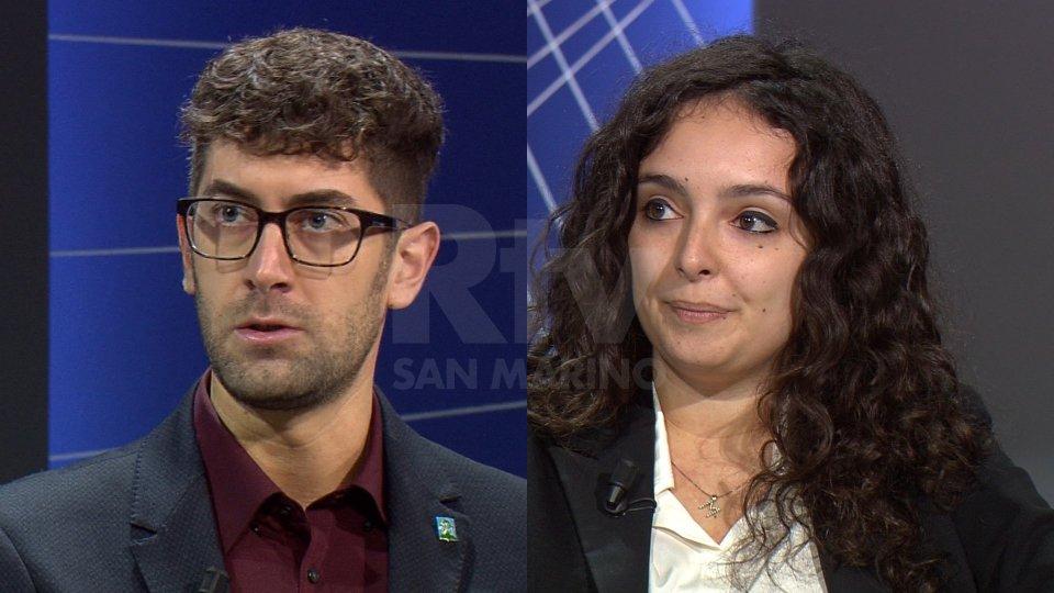Alessandro Bindi e Maddalena Muccioli