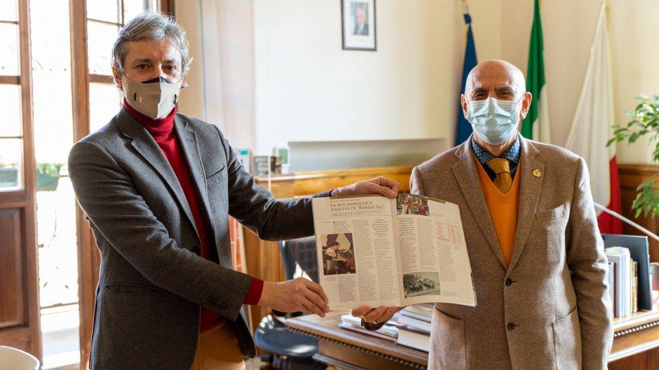 Musica, ricordi e radici: il sindaco Andrea Gnassi incontra il Maestro Franco Benedetto Morri