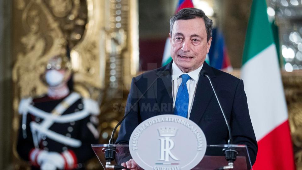 Mario Draghi (Rainews)