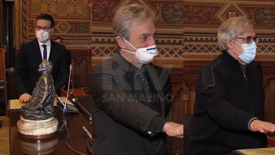 Italo Volpinari, Giuliano Cellarosi e Matteo Tamagnini