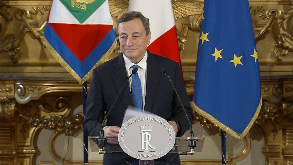 """Crisi di Governo: Lega apre a esecutivo Draghi. Necessaria, per M5S, """"maggioranza politica"""""""