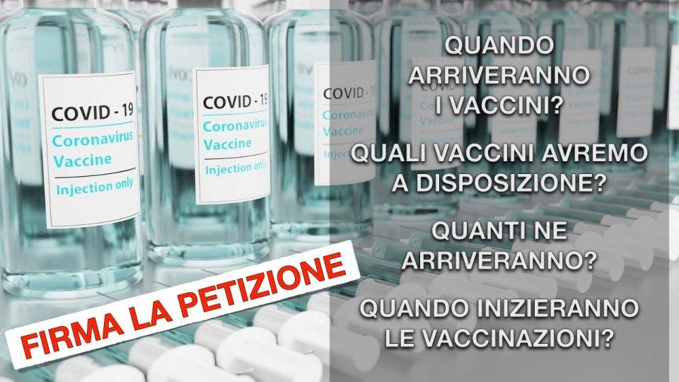 Ritardo sull'approvvigionamento di vaccini, creata una petizione online