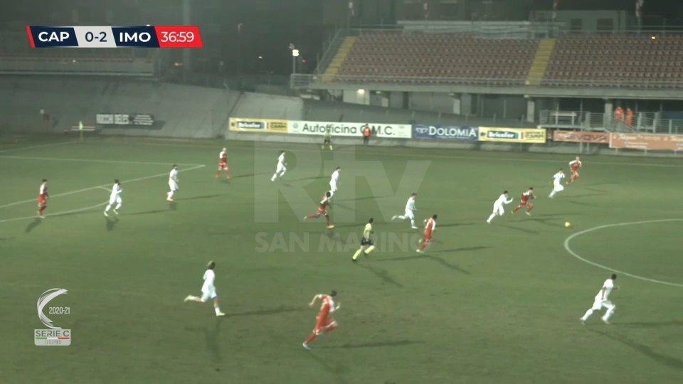 Serie C: seconda vittoria consecutiva per l'Imolese. Pareggiano Matelica – Vis Pesaro e Vecomp – Arezzo