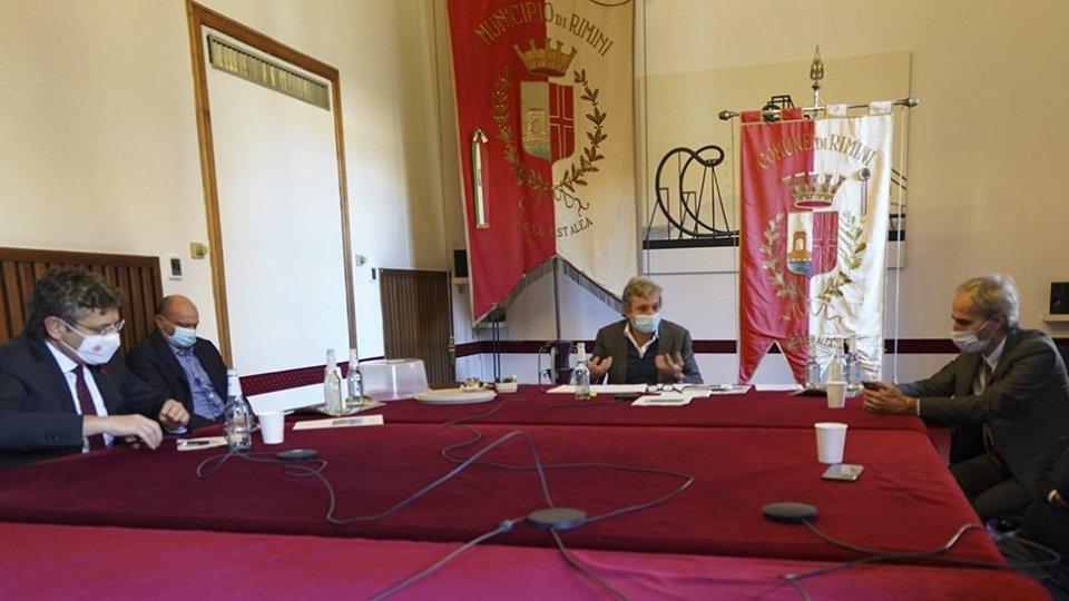 Il Rettore Alma Mater a Rimini per fare il punto su progetti e prospettive dell'Ateneo in città