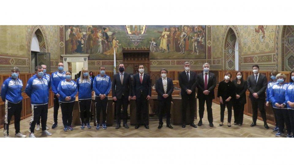 Nuove divise per la Federazione Sammarinese Sport Speciali donate dal Rotary Club San Marino