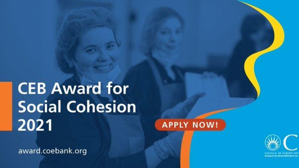 Segreteria Affari Esteri: Premio 'Ceb Award for social cohesion' istituito dalla Banca di Sviluppo del Consiglio d'Europa 2021