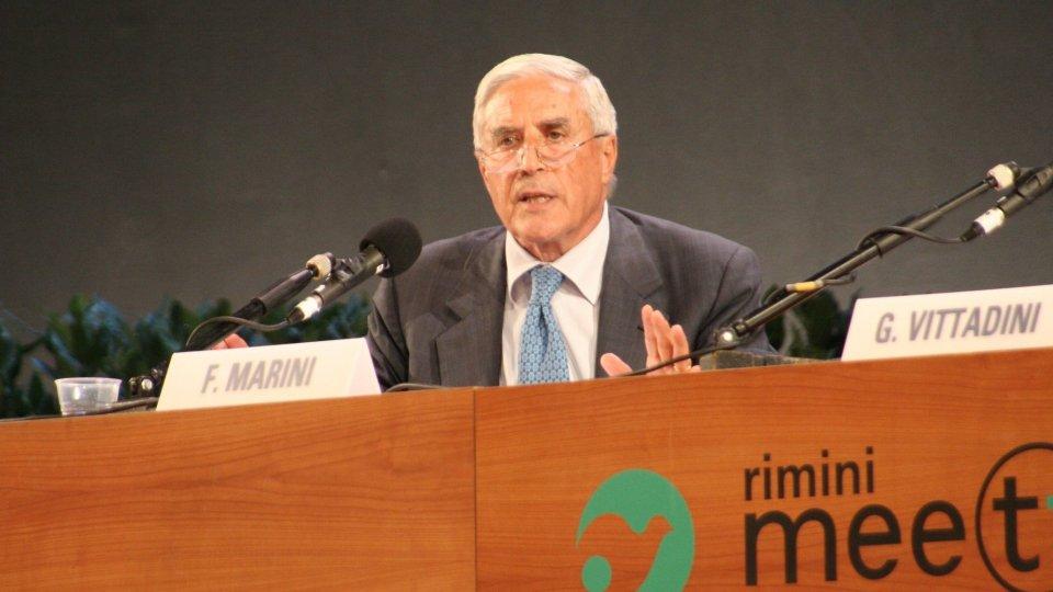 La scomparsa di Franco Marini: aprì l'edizione 2006 del Meeting