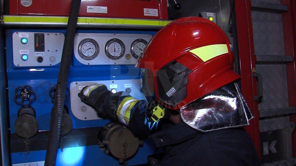 Sezione antincendio Polizia Civile
