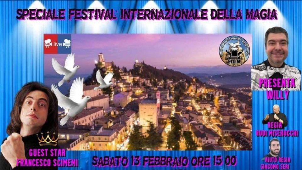Speciale Festival internazionale della magia in line