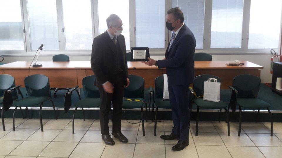Visita dell'Ambasciatore d'Italia San Marino alla CSdL: tanti i temi di interesse e impegno comune