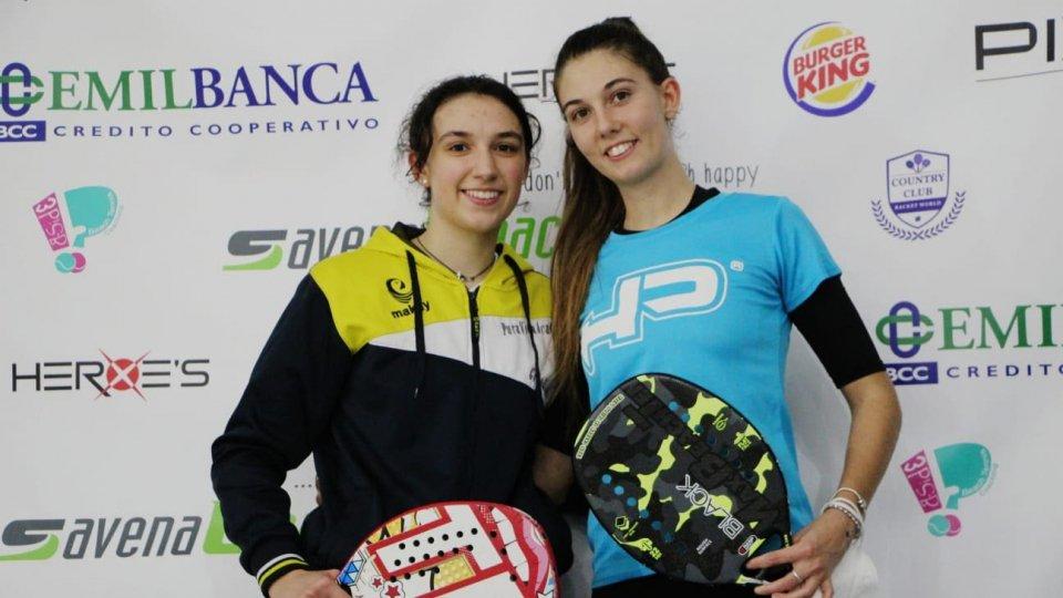 Alice e Ilaria Grandi trionfano a Forlì e Castenaso