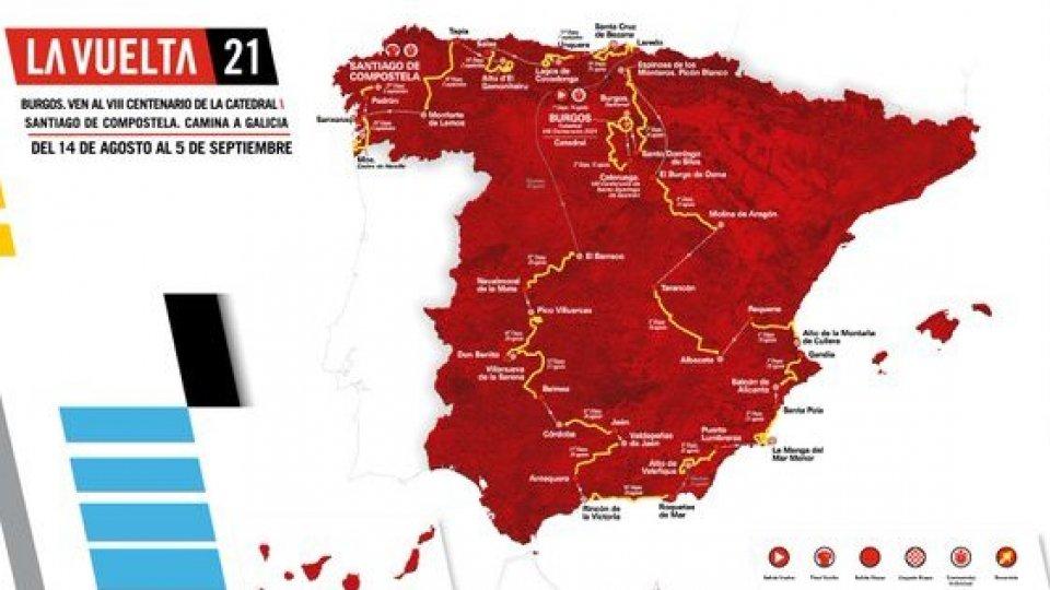 Eccola la Vuelta 2021, tra cattedrali e salite