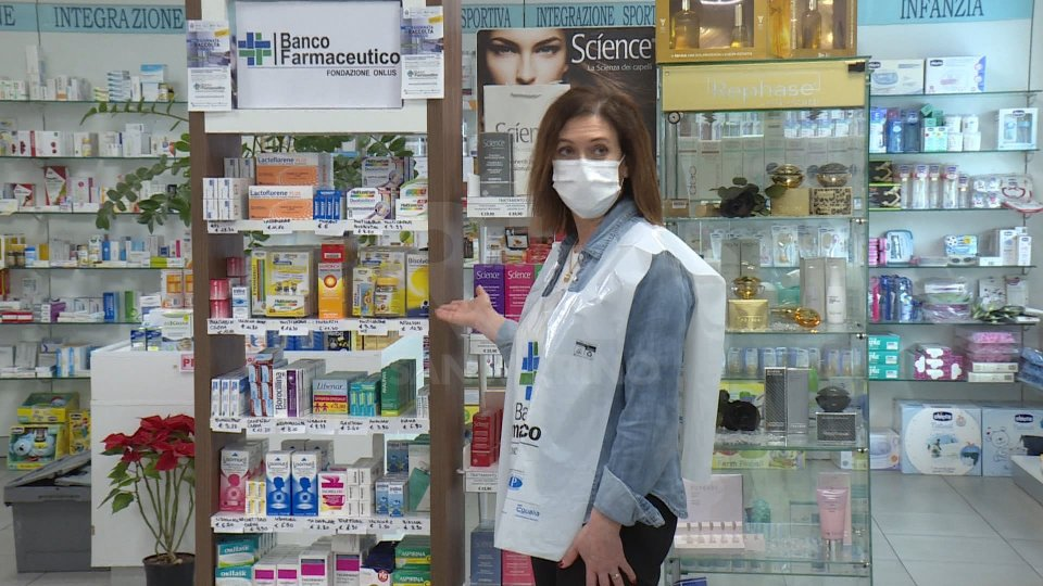 Tutto pronto per la Giornata di Raccolta del Farmaco: oggi anteprima alla Farmacia di Cailungo