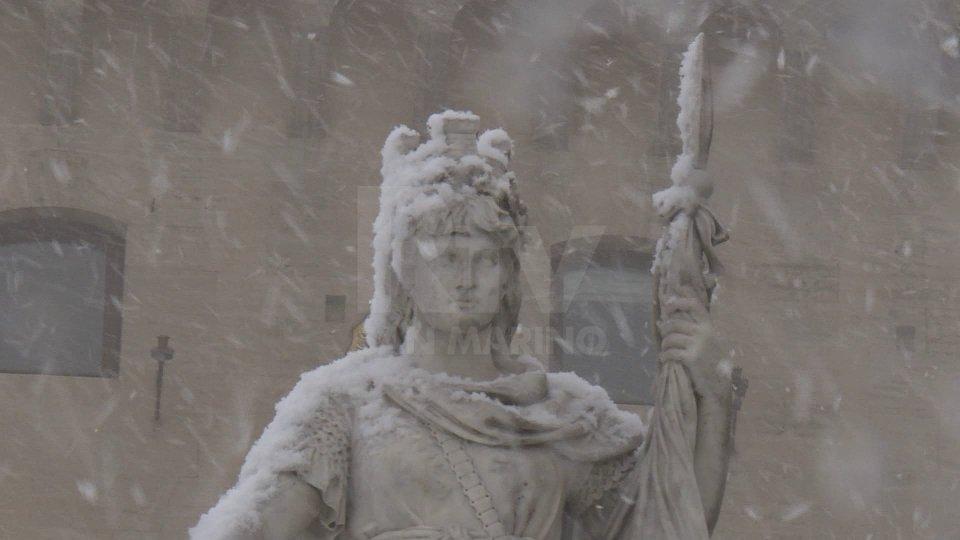 Neve e gelate in arrivo: allerta meteo della Protezione Civile
