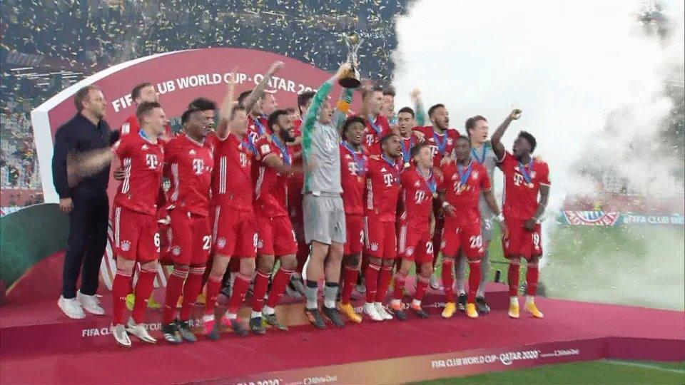 Il Bayern Monaco sul tetto del Mondo