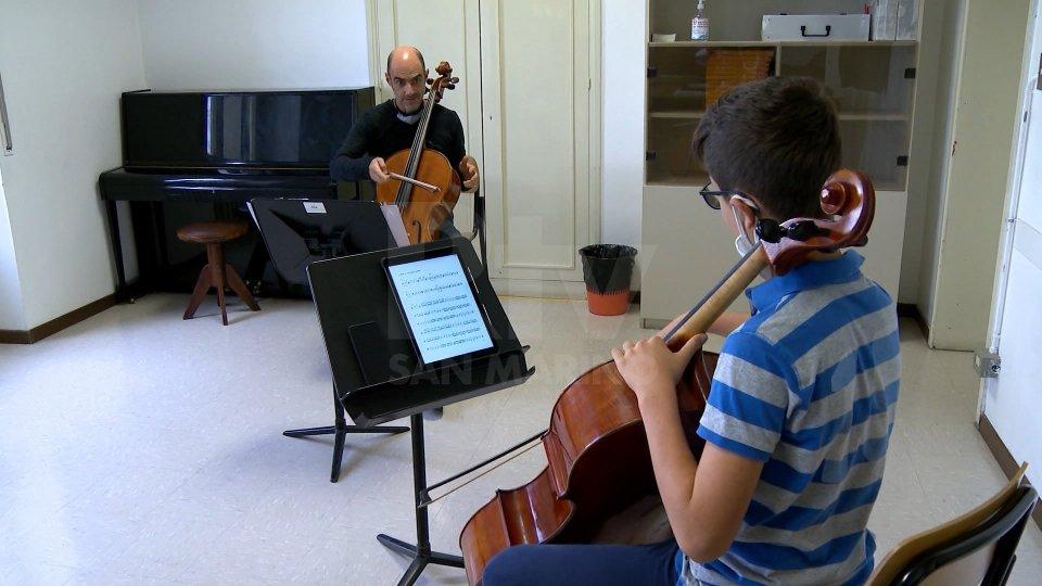 Nel video l'intervista a Giacomo Volpinari, Presidente Istituto Musicale Sammarinese.