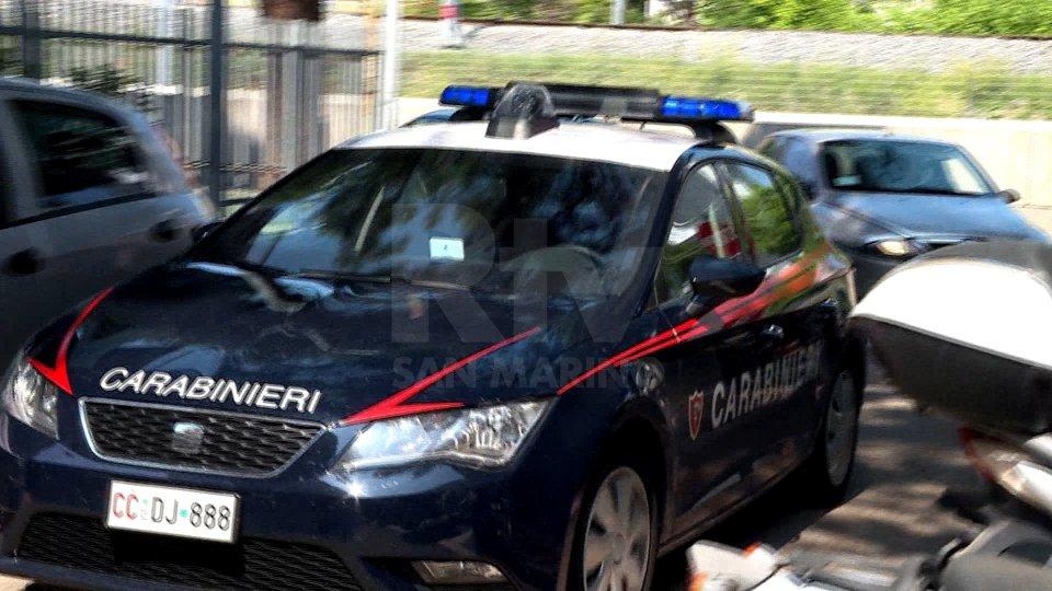 Carabinieri di Riccione (foto archivio)