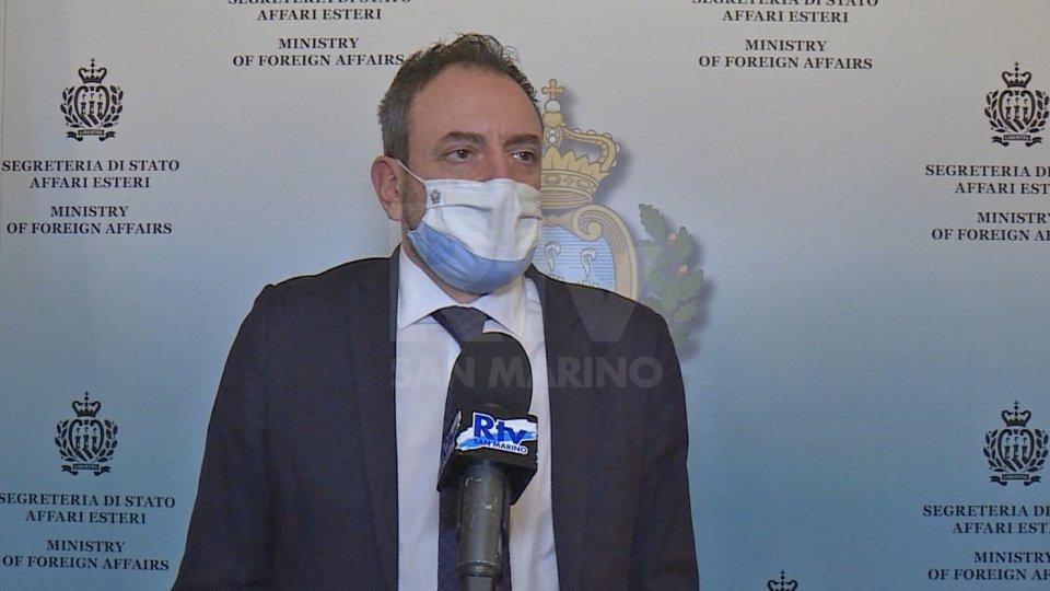 """Segretario di Stato Beccari: """"Il Governo di San Marino augura buon lavoro al nuovo presidente del Consiglio"""""""