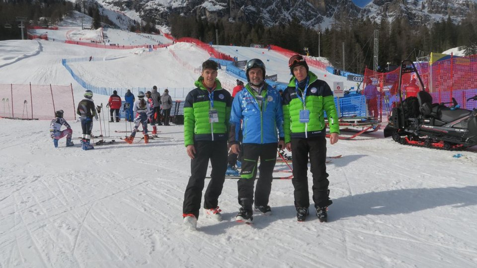 Cortina 2021: giovedì l'esordio dei sammarinesi Matteo Gatti e Alberto Tamagnini