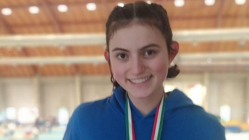 Alessandra Gasparelli bronzo allievi ai campionati italiani