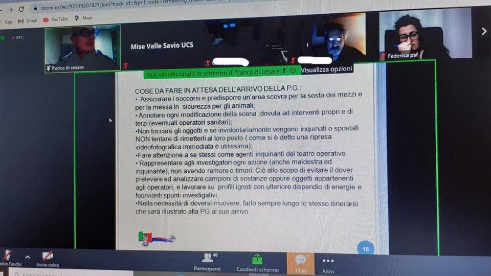 Unità Cinofile da Soccorso San Marino: Corso preservazione scena del crimine