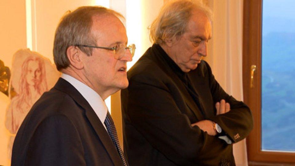 """L'incontro con il giornalista Antonio Ferrari""""In ricordo dei giusti"""": l'incontro con il giornalista Antonio Ferrari all'Ambasciata d'Italia in San Marino"""