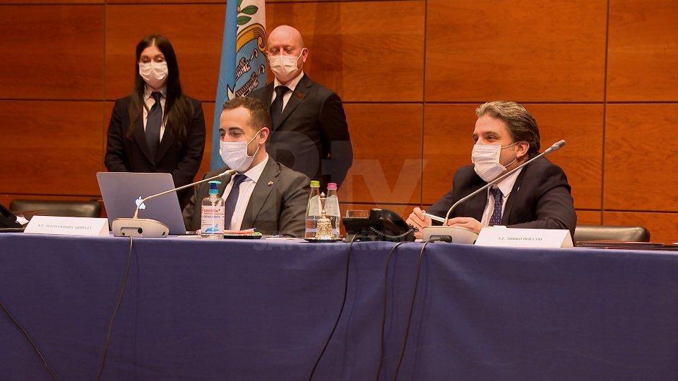 Cominciata la seduta d'urgenza: in odg la ratifica del decreto per il Titano Bond e la nomina del nuovo dirigente dell'Authority